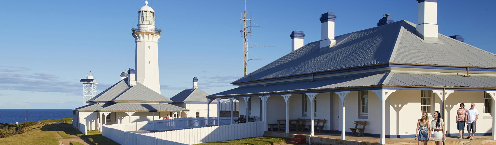 Green Cape Lighthouse cottage