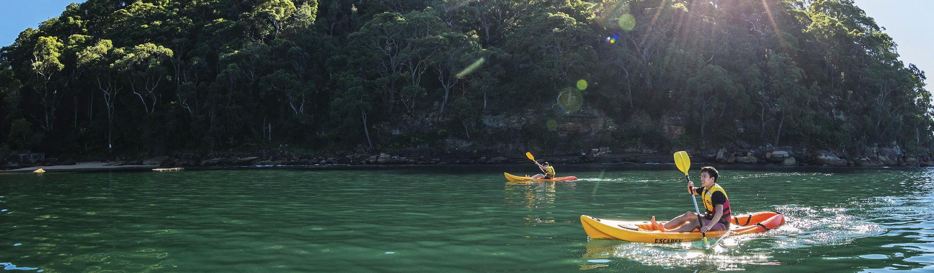 Kayaking, Hawkesbury Area