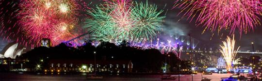 New Year's Eve Fireworks, Sydney Harbour