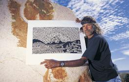 Aboriginal artist, Outback NSW