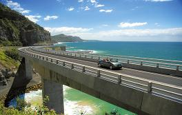 Sea Cliff Bridge, South Coast
